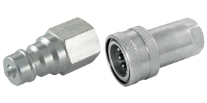 Stainless Steel - ISO A Interchange Couplings & Plugs
